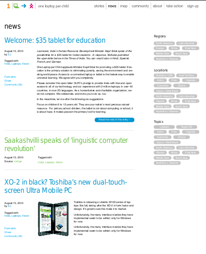 OLPC News