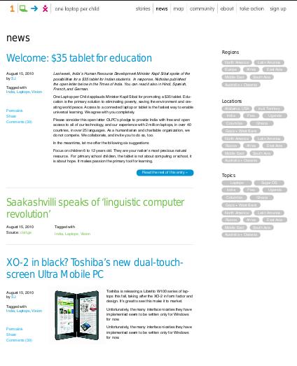 OLPC News