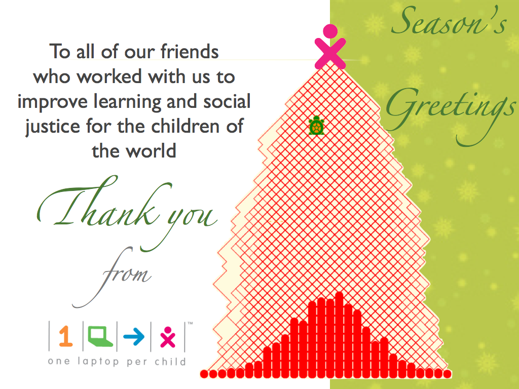 Thank you from OLPC