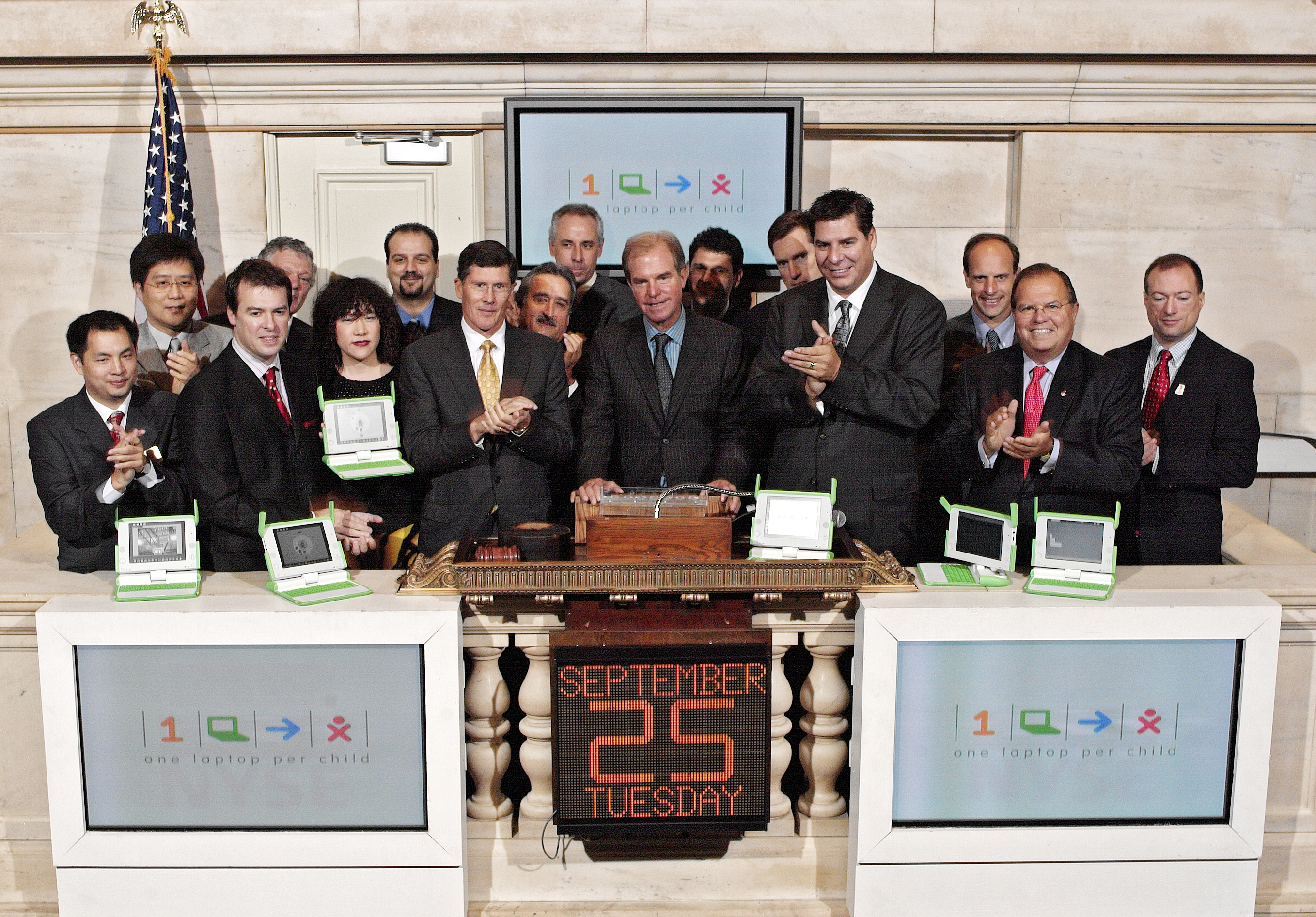 MC & OLPC Stock Exchange