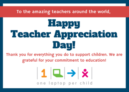 Happy Teacher Appreciation Day 2018