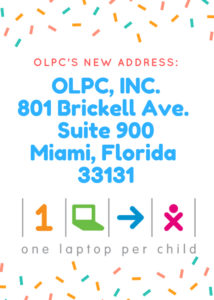 OLPC New Address